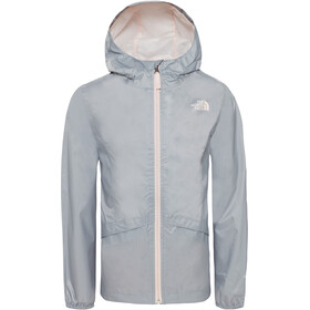 The North Face Zipline Rain Jacket Girls mid grey